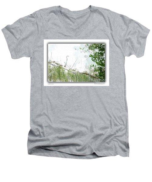 Lake Crane Men's V-Neck T-Shirt