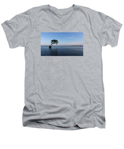 Lake Disston Cypress #2 Men's V-Neck T-Shirt