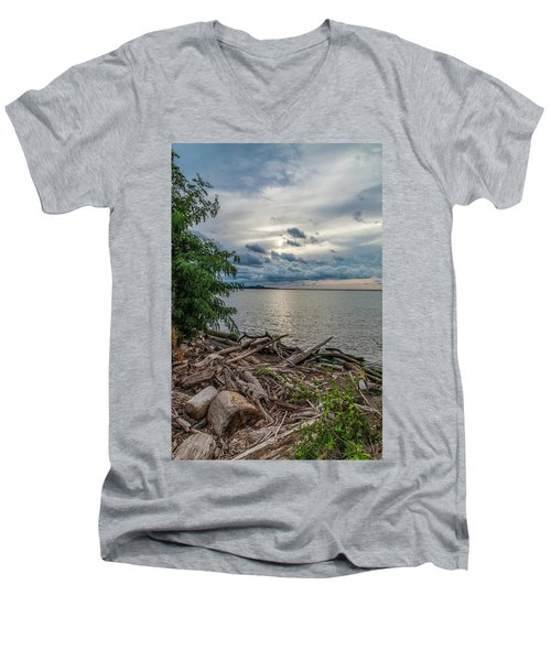 Lake Erie Serenade Men's V-Neck T-Shirt