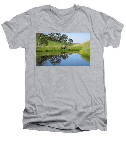 Lake Front Property Men's V-Neck T-Shirt