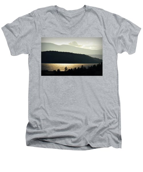 Lake Glimmer Men's V-Neck T-Shirt