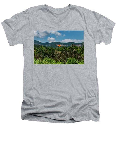 Lake Lure Men's V-Neck T-Shirt