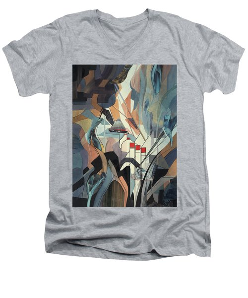 Lake Mead Men's V-Neck T-Shirt