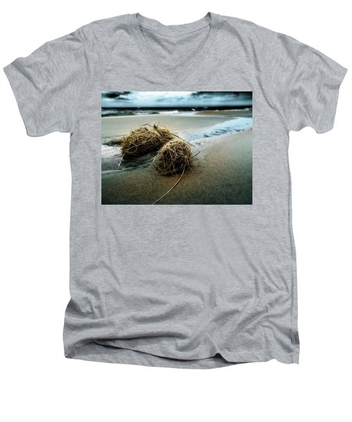 Lake Michigan Tumbleweed Men's V-Neck T-Shirt