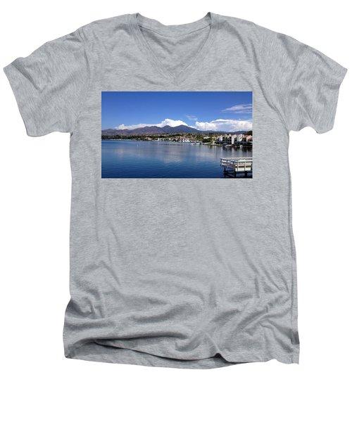 Lake Mission Viejo Men's V-Neck T-Shirt
