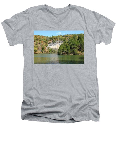 Lake Of The Ozarks Men's V-Neck T-Shirt