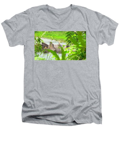 Lake Overflow Men's V-Neck T-Shirt