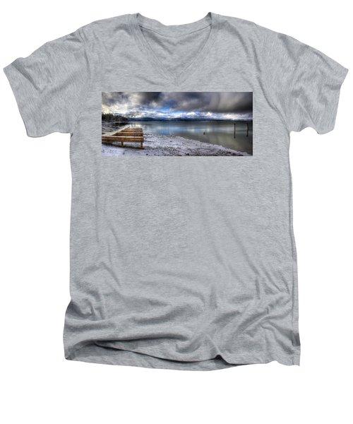 Lake Pend D'oreille At 41 South Men's V-Neck T-Shirt