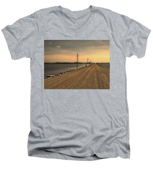 Lake Road Men's V-Neck T-Shirt