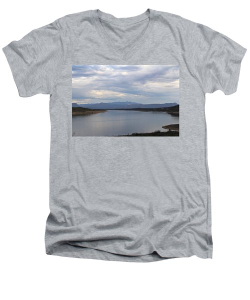 Lake Roosevelt 2 Men's V-Neck T-Shirt