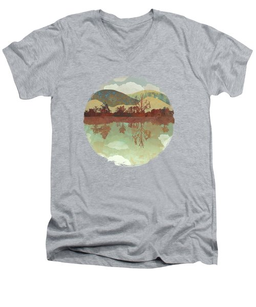 Lake Side Men's V-Neck T-Shirt