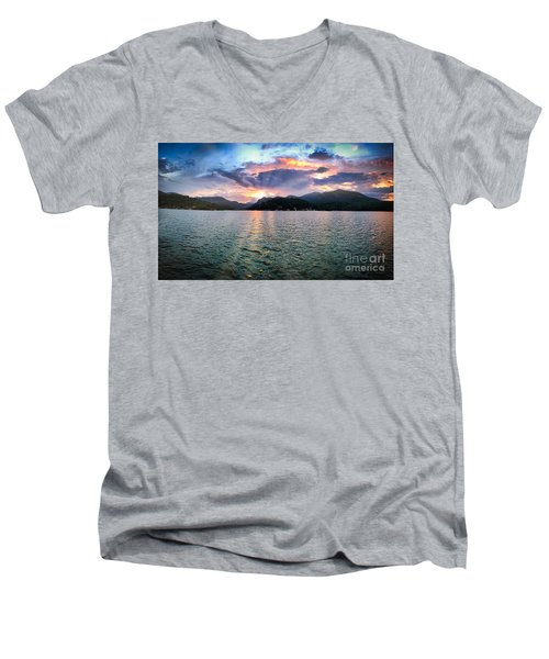 Lake Solstice Men's V-Neck T-Shirt