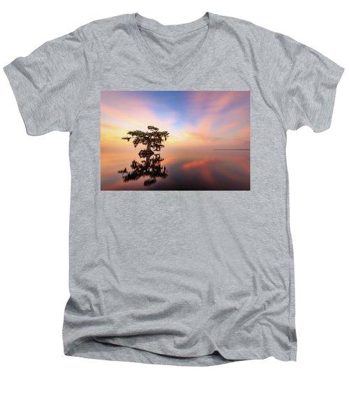 Lake Sunrise Men's V-Neck T-Shirt