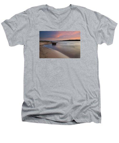 Lake Sunset IIi Men's V-Neck T-Shirt