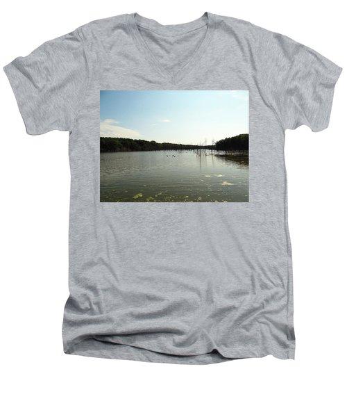 Lake View Men's V-Neck T-Shirt