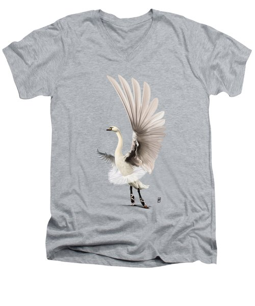 Lake Wordless Men's V-Neck T-Shirt