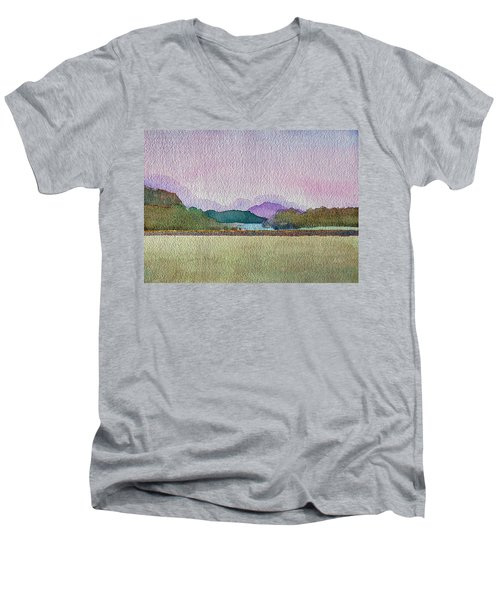 Lakes Of Killarney Men's V-Neck T-Shirt