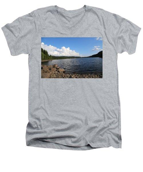Lakeside Men's V-Neck T-Shirt