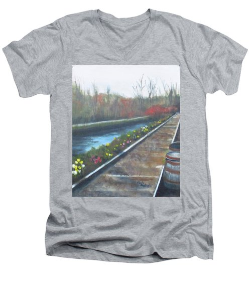 Lambertville Rr #2 Men's V-Neck T-Shirt