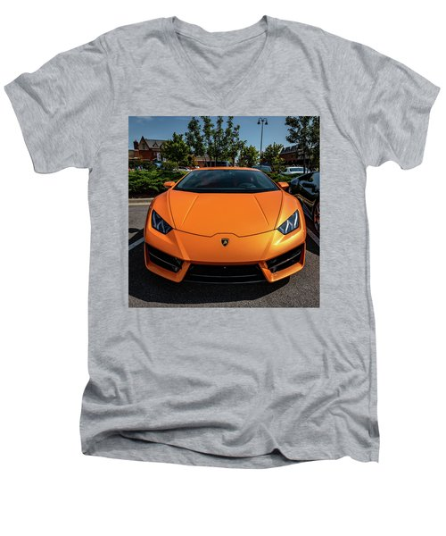 Lamborghini Huracan Men's V-Neck T-Shirt