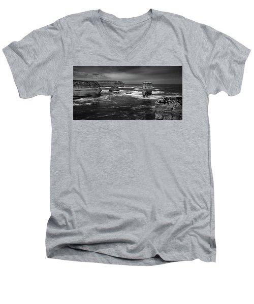 Land And Sea Men's V-Neck T-Shirt