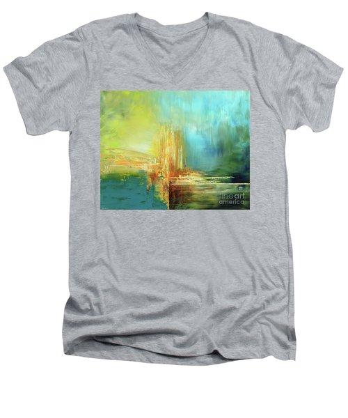 Land Of Oz Men's V-Neck T-Shirt by Tatiana Iliina