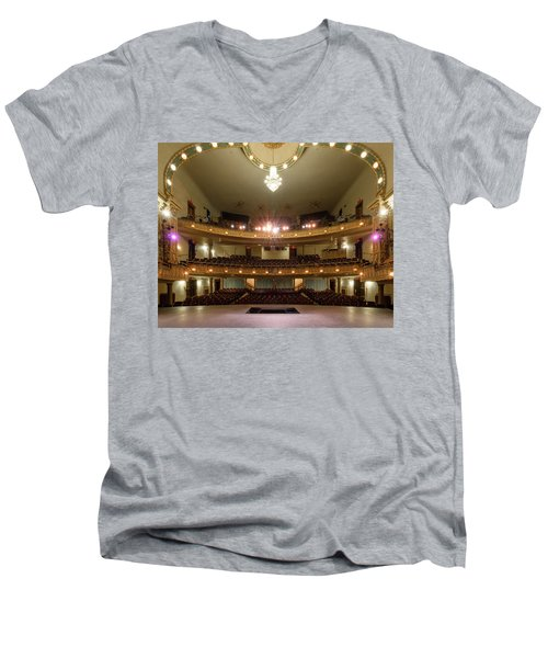 Landers Theatre Men's V-Neck T-Shirt