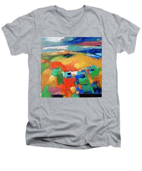 Landforms, Suggestion Of A Memory Men's V-Neck T-Shirt