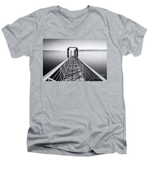 Landing Dock Men's V-Neck T-Shirt