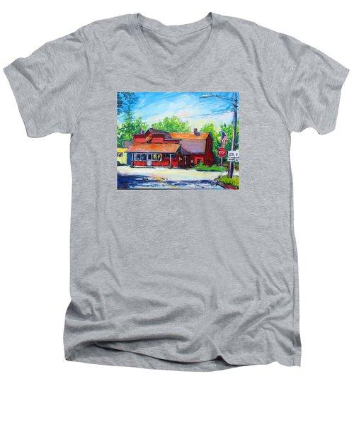 Landmark Six Men's V-Neck T-Shirt