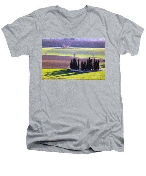 Landscape 3 Men's V-Neck T-Shirt