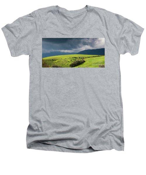 Landscape Aspromonte Men's V-Neck T-Shirt