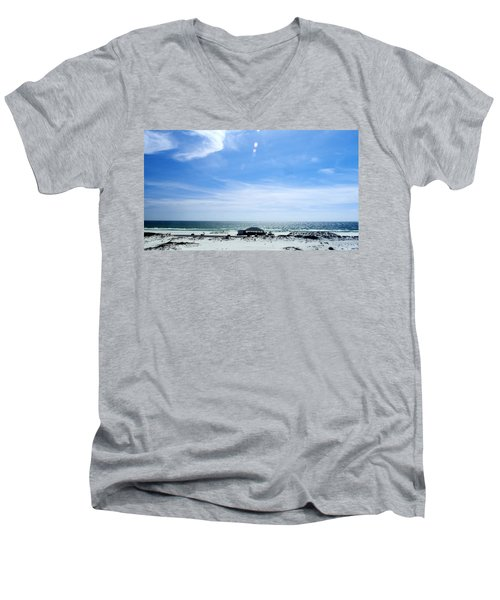 Langdon Beach Men's V-Neck T-Shirt