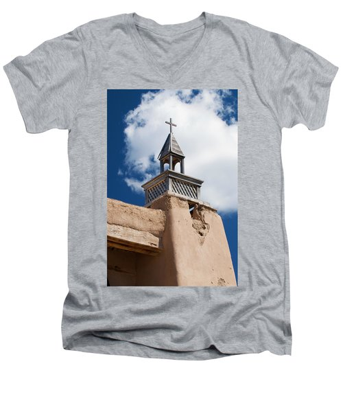 Las Trampas Church Men's V-Neck T-Shirt