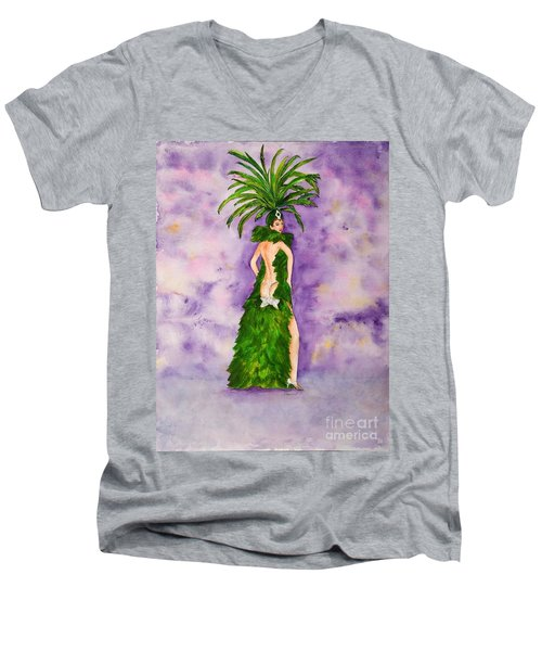 Las Vegas Show Girl Men's V-Neck T-Shirt