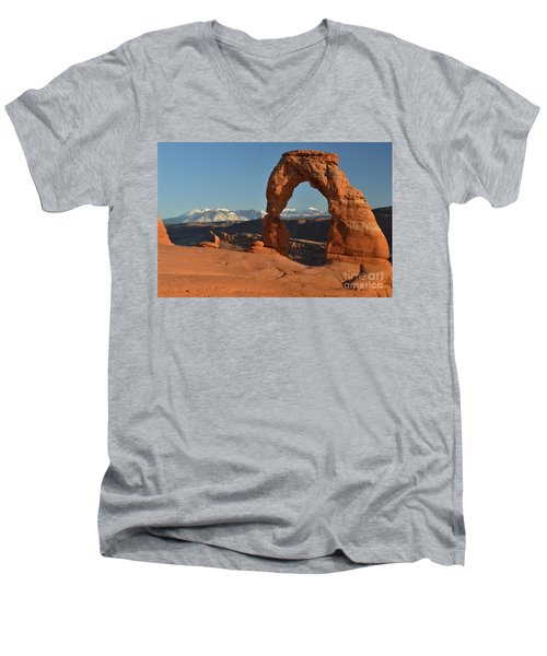 Lasals Framed Men's V-Neck T-Shirt