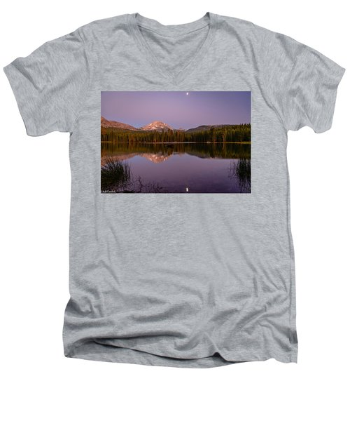 Lassen Peak Men's V-Neck T-Shirt