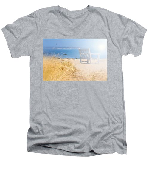 Last Breadth Of Summer Men's V-Neck T-Shirt