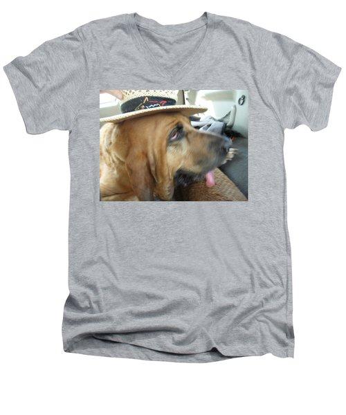 Last Car Ride Men's V-Neck T-Shirt by Val Oconnor