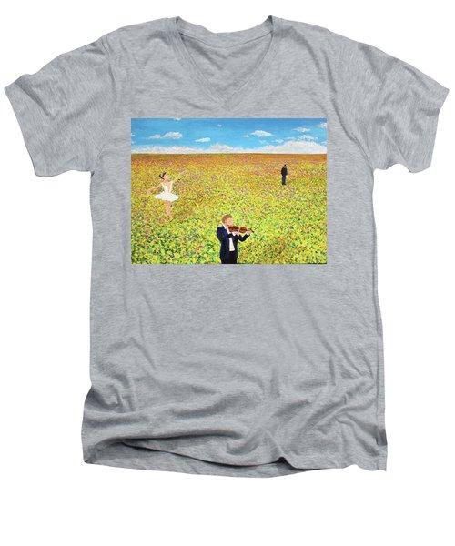 Last Dance Men's V-Neck T-Shirt
