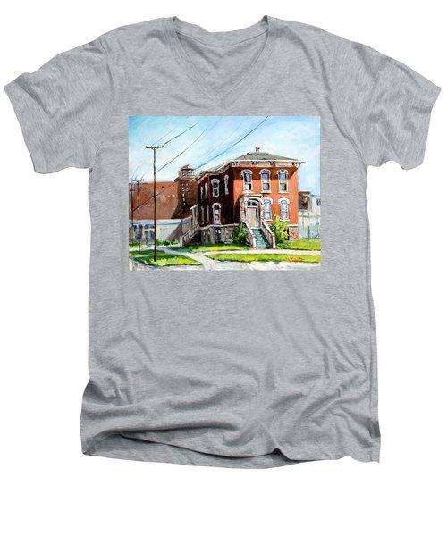 Last House Standing Men's V-Neck T-Shirt