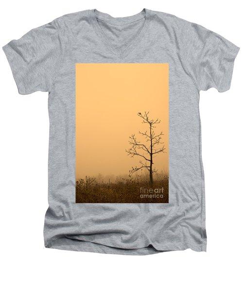 Last Leaves Men's V-Neck T-Shirt