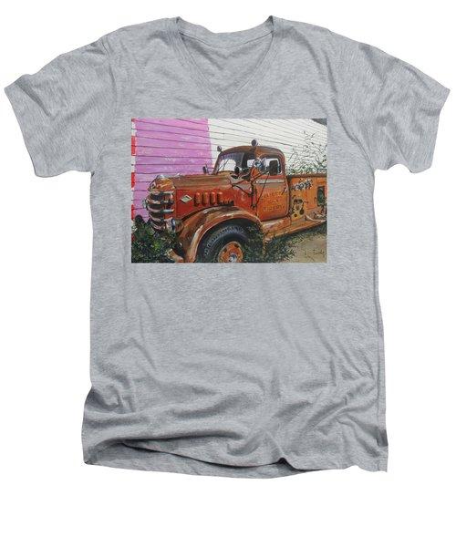 Last Parade Men's V-Neck T-Shirt