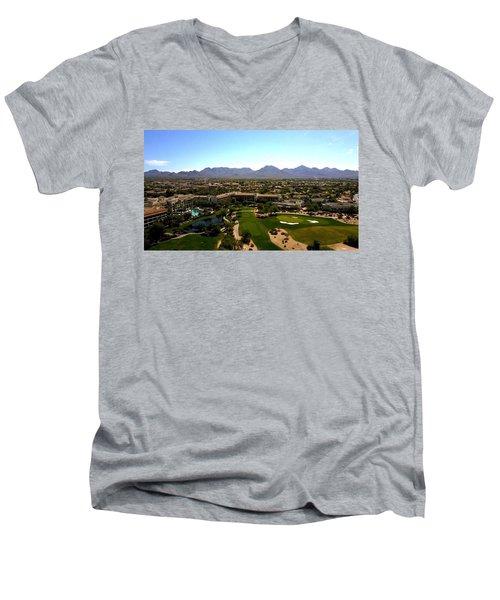 Last Shot Men's V-Neck T-Shirt
