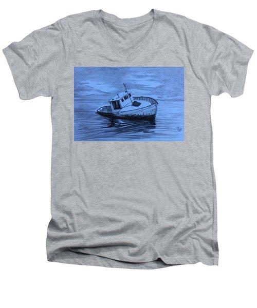 Last Voyage  Men's V-Neck T-Shirt
