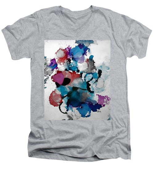 Late Night Magic Men's V-Neck T-Shirt by Alika Kumar