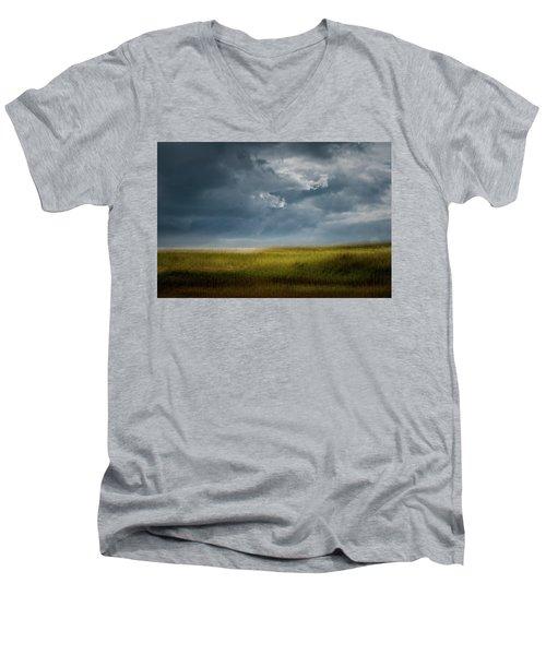 Late September Afternoon  Men's V-Neck T-Shirt