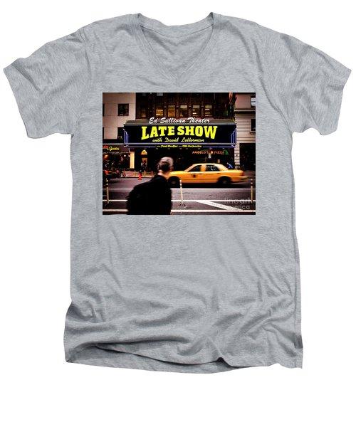 Late Show Men's V-Neck T-Shirt