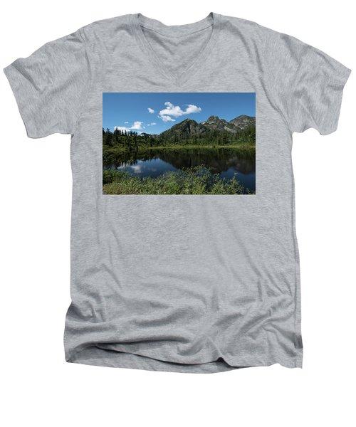 Late Spring Peaks Men's V-Neck T-Shirt