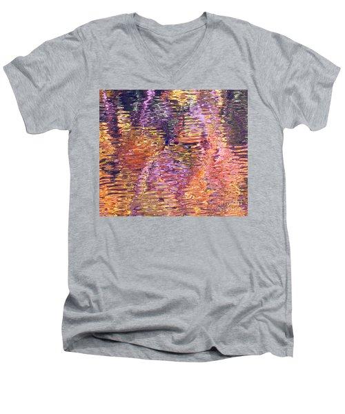 Laughter In Color Men's V-Neck T-Shirt